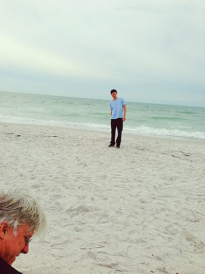 Christmas Day Father & Son Florida Life White Sands Clear Water Fatherhood Moments Nature
