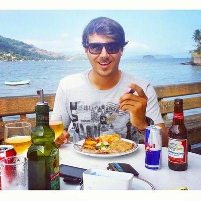Depois de muito trabalho eu mereço. Almoçando no melhor paradise! Goodvibe Angra Diasmelhores Dborest FomeZero MuitasIlhas Nature Paradise VounaFé VamoqVamo