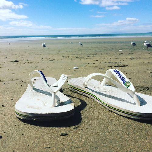 Beaching It Jandals Frommypointofview Different Perspective Beachlife Goodlife❤ Life Is Beautiful In The Moment Thisisreality Nature On Your Doorstep Nature Day Cloud - Sky Scenics - Nature Outdoors