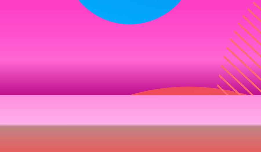 Digital composite image of multi colored background