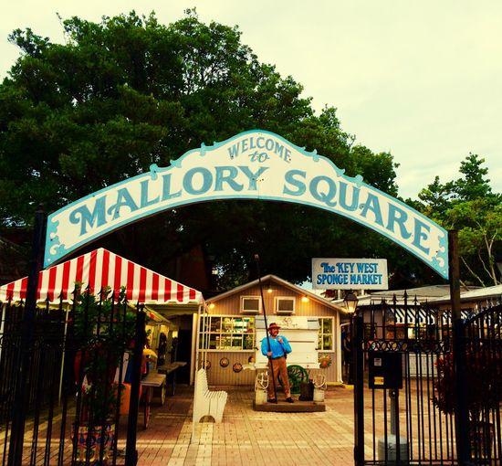 Mallory Square Key West Travel Walking Around Spongeman Conchfused