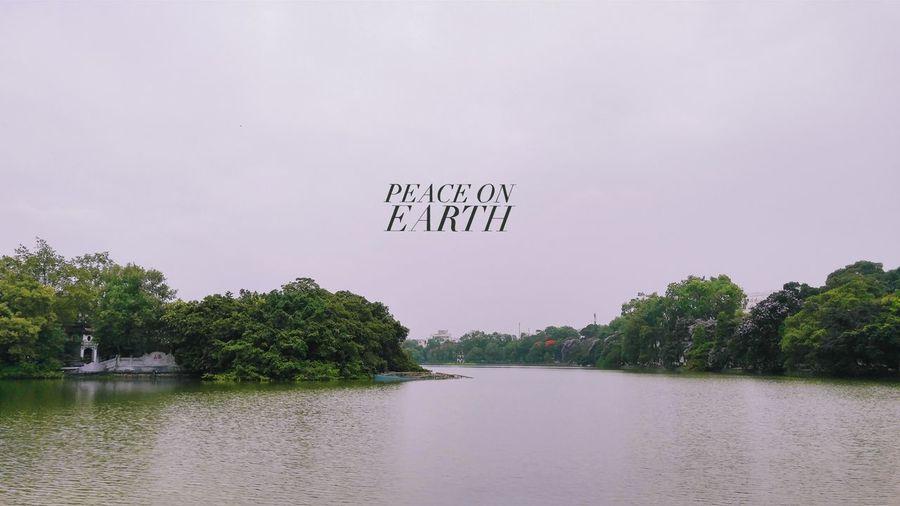 Hoan Kiem Lake EyeEm Best Shots Landscape Hanoi Lake Vietnam