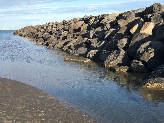Sea Water Rocks Rocks And Water Beach Europe Nofilter#noedit France Relaxing Mediterranean  Mediterranean Sea Méditerranée Sand The Great Outdoors - 2016 EyeEm Awards