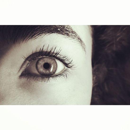 Girl Olho That's Me Eyes