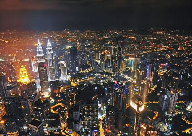 Kuala Lumpur city at night View Travel Travel Destinations Landscape Aerial View Aerial Shot Aerial Photography EyeEm Nature Lover EyeEm Selects Getty Images EyeEm Best Shots Malaysia Dronephotography Holiday EyeEm Gallery Outdoor Beautiful Cityscape Illuminated City Technology Full Frame Close-up Sky Skyscraper Skyline Urban Skyline Downtown Financial District  Office Building