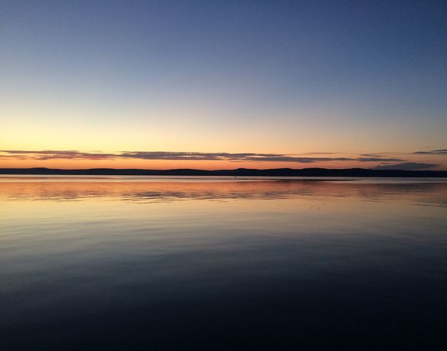 Sunset Balaton Lake Water IPhoneography