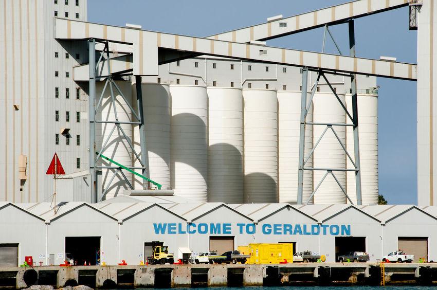 Port of Geraldton Australia Geraldton Harbor Western Australia Port