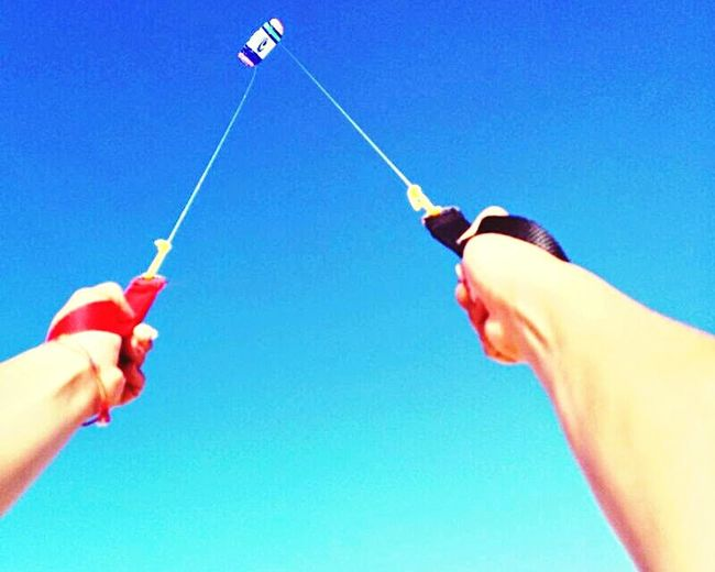 Flyingkites Holding The Sun A Little Windy Monteclerigo Beach Life
