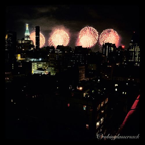 Fireworks From My Roof EyeEm Best Shots - HDR Cityscape WiAM Community