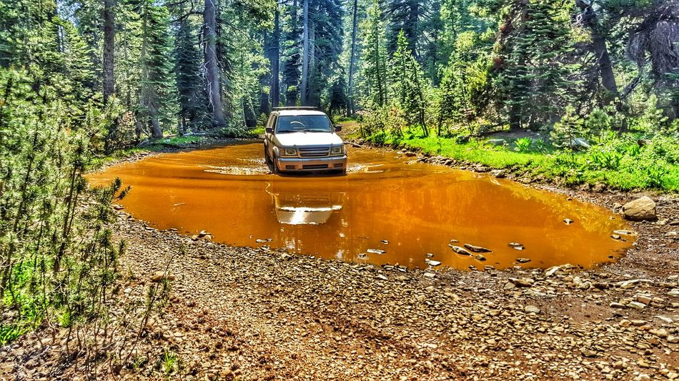 Water crossing Meadow Lakes trail Northern California That's Me Enjoying Life Travel Overland Offroading Outdoors Ourdoor