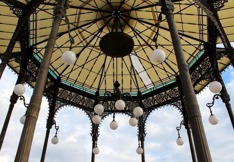 Catania, Sicily Centro Storico Di Catania Gazebo Geometrie Palco Per Musicisti Stile Moresco Via Etnea Villa Bellini