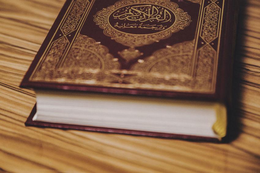 Faith Holly Kuran-ı Kerim Quran Wisdom Allah Arabic Book, Chapter Close-up Closed Indoors  Islam Islamic Kuran Law No People Pages Prayer Religion Religion And Beliefs Religious  Right Symbol Understanding
