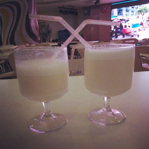 Sweet_Lassi with my Sweet_Heart ... <3
