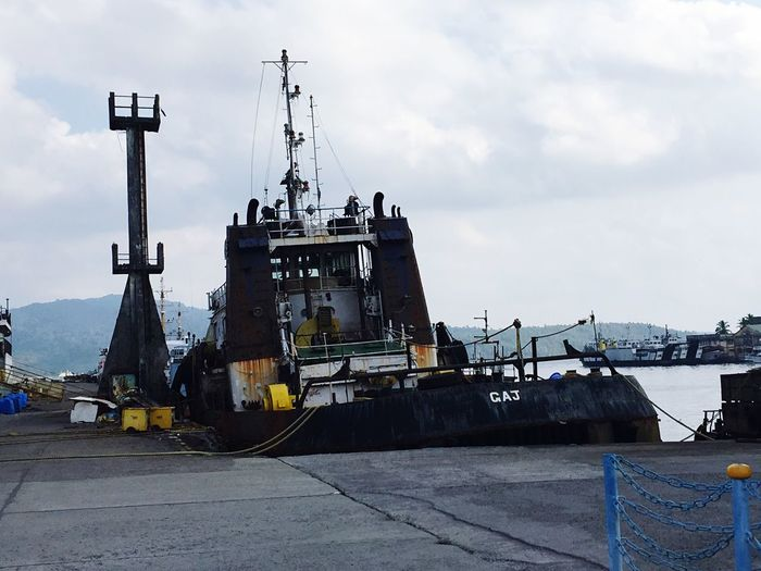 Port Old Ship Wrecked Out Of Use  Check This Out Marine