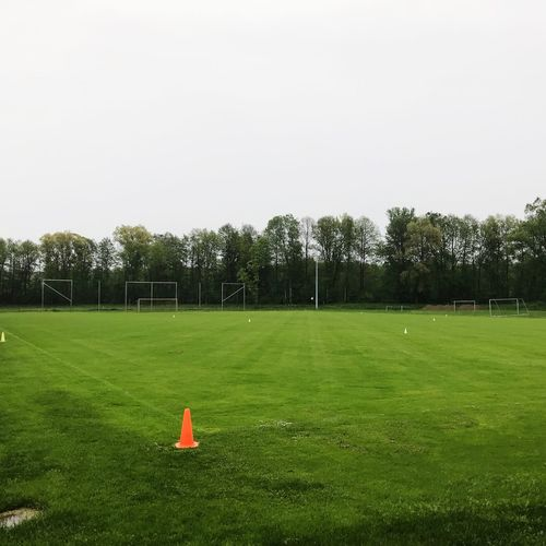 soccer, field, green, nature, rainy day, random pic Day Soccer Field Playing Field No People Sport Outdoors Soccer