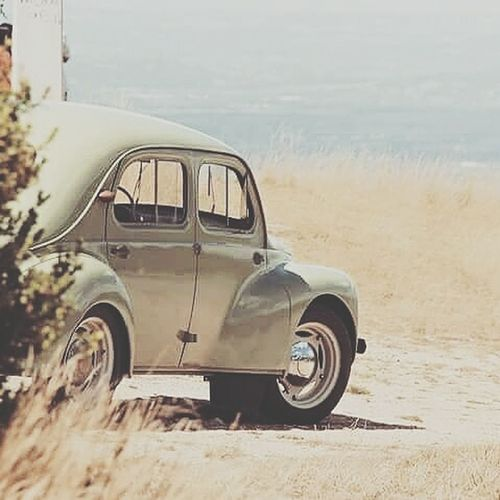 Car Old-fashioned Retro Styled No People Nature Tranquility