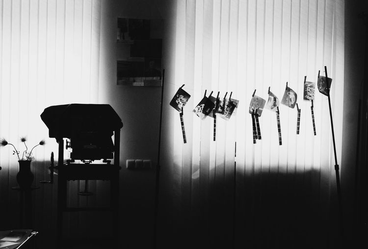 #blackandwhite #bws_worldwide #bnw #blackandwhite #bw #blacknwhite #Canon #canon Photography #museum #photography #photomuseum #vintage Absence Arrangement Close-up Curtain Day Domestic Room Electric Lamp Empty Furniture Illuminated In A Row No People Side By Side