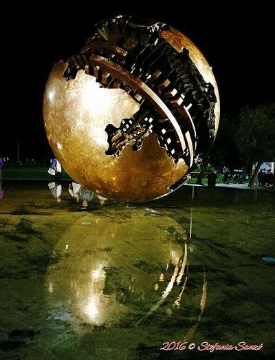 Palladipomodoro Palla Di Pomodoro Pesaro Italiansculpture Sculpture Hello World