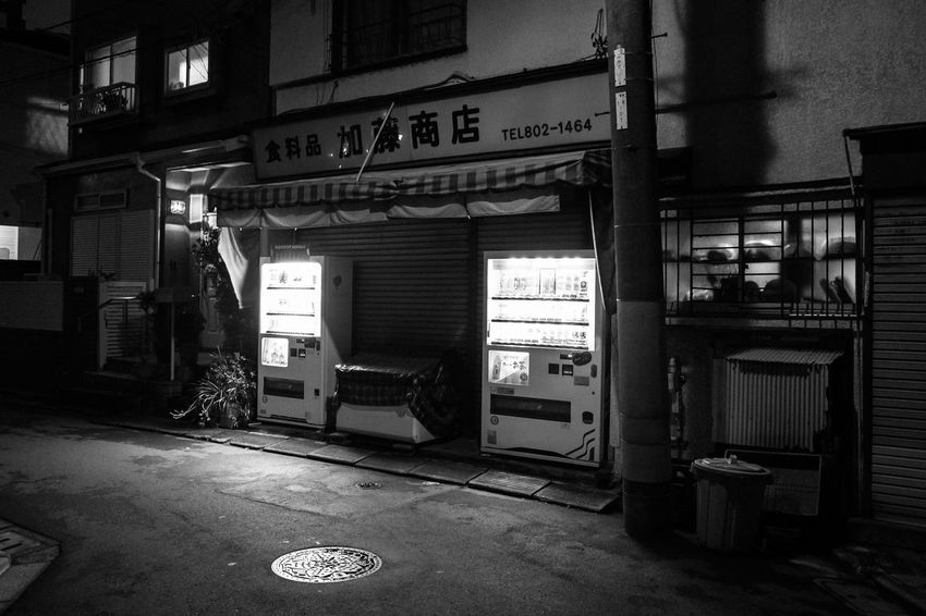 Tokyo street 2 Architecture Built Structure Indoors  No People Communication Sign HUAWEI Photo Award: After Dark Night Building Entrance City