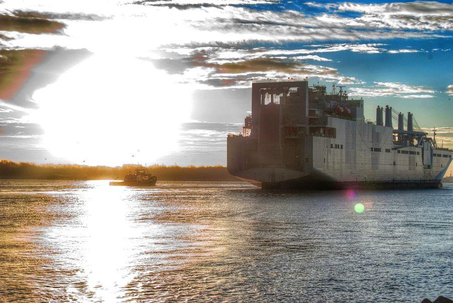 Battleship Sunrise Morning Streamzoofamily