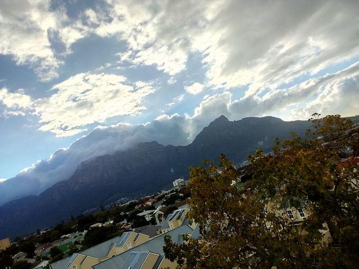 Mountain Sky Cloud - Sky Mountain Range Landscape