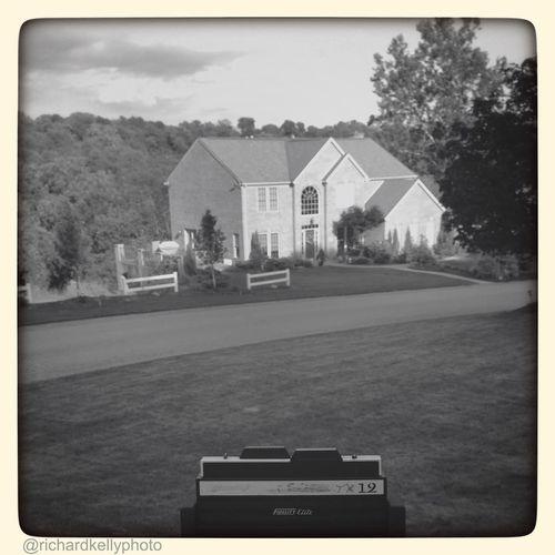 using Cameleon App To frame up titan Titan Camera  Black And White Photo