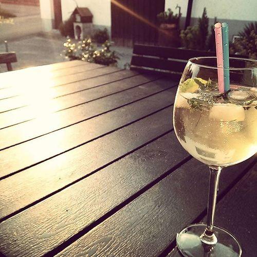 Hugooooo😋🍹🌅 Hugo Summertime Holidays Sektchen Minze Strohhalm Alcohol Enjoylife EnjoyHoliday
