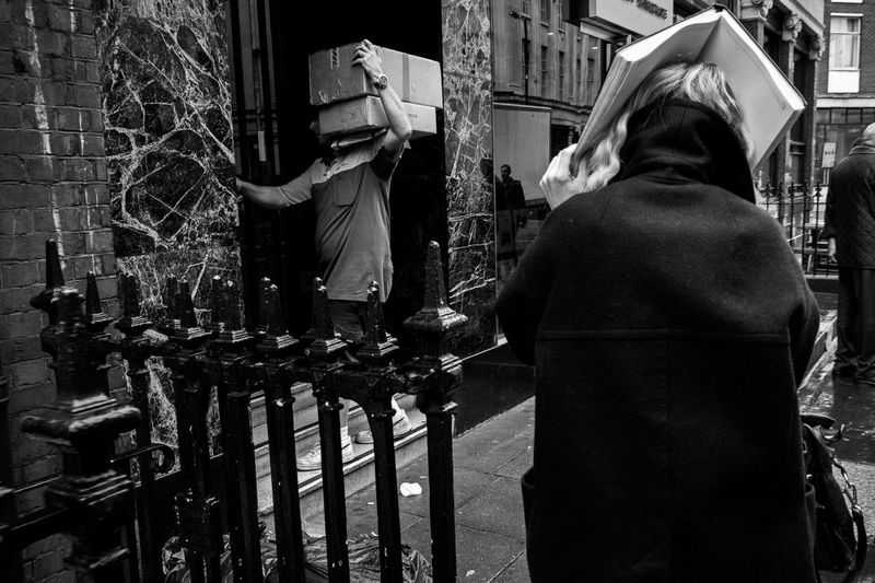 The Street Photographer - 2014 EyeEm Awards Telling Stories Differently