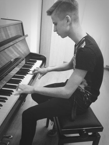 Playing Piano Piano Time