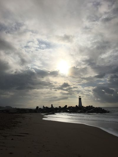 Walton Lighthouse 4 Atmosphere Atmospheric Mood Beach Beachphotography Cloud Cloud - Sky Cloudscape Cloudy Dramatic Sky Horizon Over Water Lighthouse Majestic Moody Sky Outdoors Overcast Power In Nature Sand Scenics Silhouette Sky Storm Cloud Stormy Weather Sun Sunrise Weather
