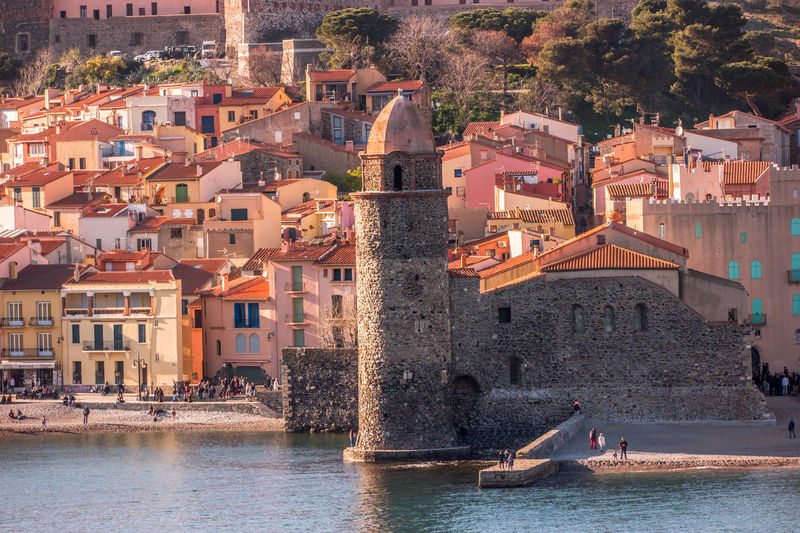 Cityscape Collioure, France Architecture Building Exterior Built Structure City Cityscape Colorful Day Fitougraphie Laurent Vankilsdonk Outdoors People Real People Roof Summer Town Water