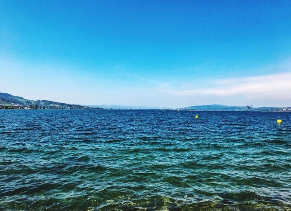 wavy 🌊 Blue Water Beauty In Nature Lake View Wave Love In Nature Patriciaphotography Outdoors First Eyeem Photo