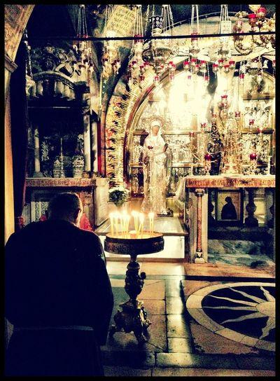 Holy Land Sacred Places Praying Church