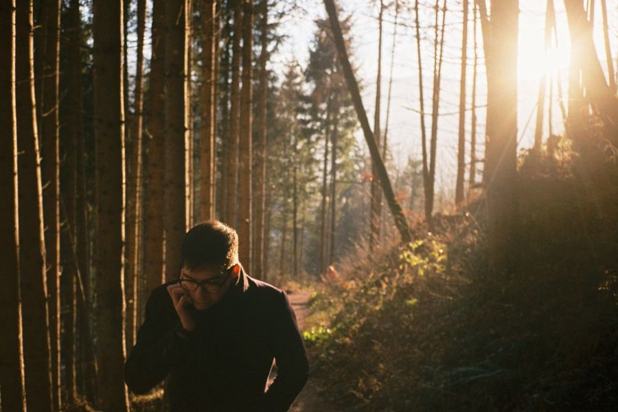 Austria Saalfelden Forest Path Trees Sunset Flare Against The Light Film Contaxt2 Outdoors Filmisnotdead Filmcamera Film Photography Analogue Photography Nature Photooftheday Natural Light Portrait 35mm Film Travel Photography