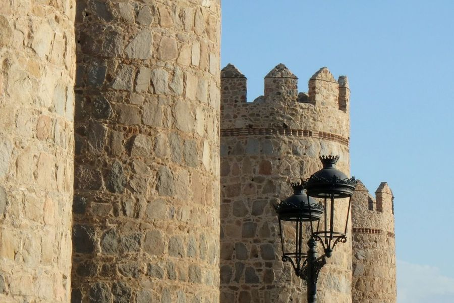 Architecture History Built Structure Building Exterior Old Ruin City Avila Wall Castle Military Lantern