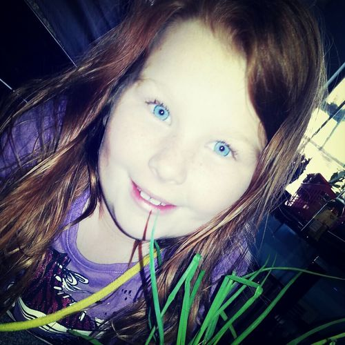Blueeyedgirl Red Hair Smiles Beautiful
