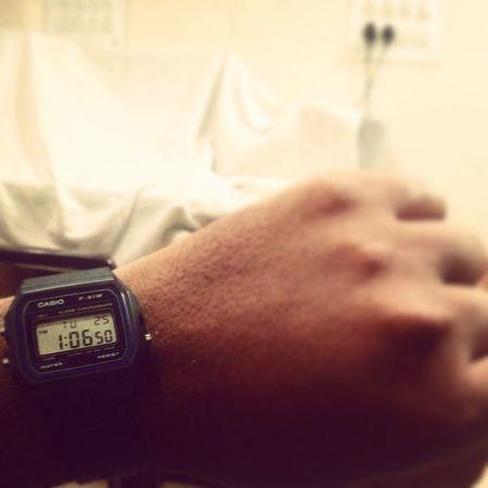 Rounds over... Jipmer Patientcare Ward Casiowatches Watchesofinstagram Watchoftheday Tuesdays  Lungs Medicine Medico