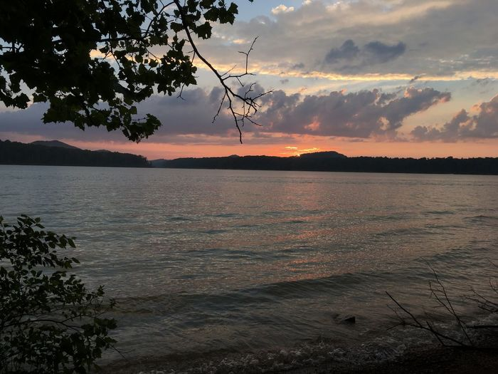 I just want to be back there so I can watch the sunset and not think for a while. Sunset Camp Site Camping Lake Cave Run Lake