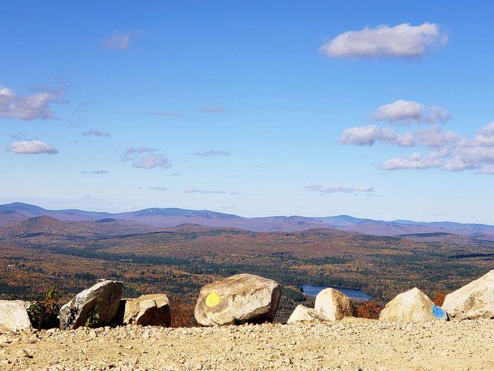 Mountains Blue Sky Landscape