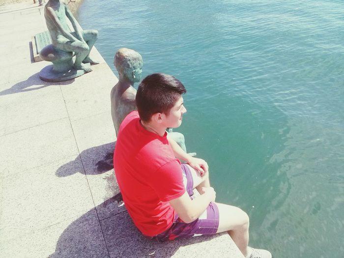 Oh Que Guapo ;P Taking Photos Model Relaxing #diosesbueno #jesuselmesias