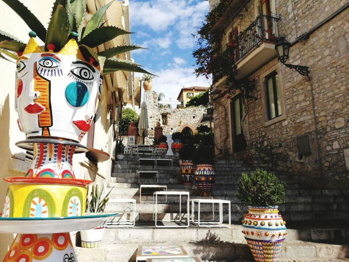 Scenic Building Exterior Beautiful Day Travelogue Record The World In My Eyes Mediteranean Stairs Arttistic Vacations Travel