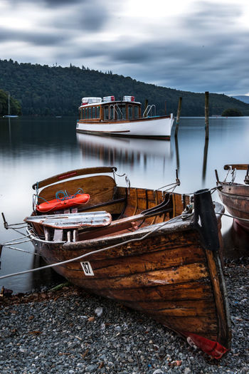 Boats on lake windermere Boat Boats Lake Lake District Long Exposure Outdoor Photography Outdoors Tranquil Scene Tranquility Transportation Travel Water Art Is Everywhere TCPM