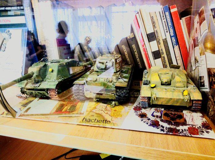 Mini Tanks Tank Model Indoors  People Day