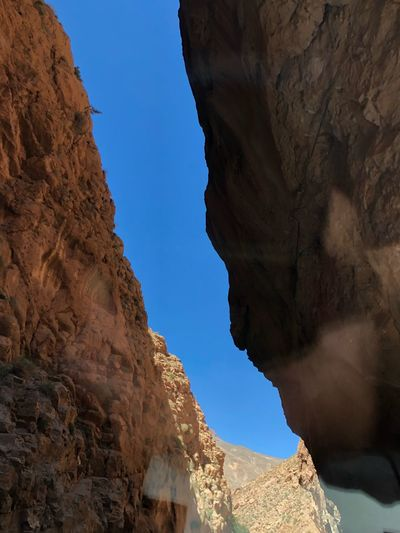 Atlas Mountain Mountains Goles Rock Rock Formation Rock - Object Solid Low Angle View Sky Nature Beauty In Nature Geology Tranquil Scene Scenics - Nature