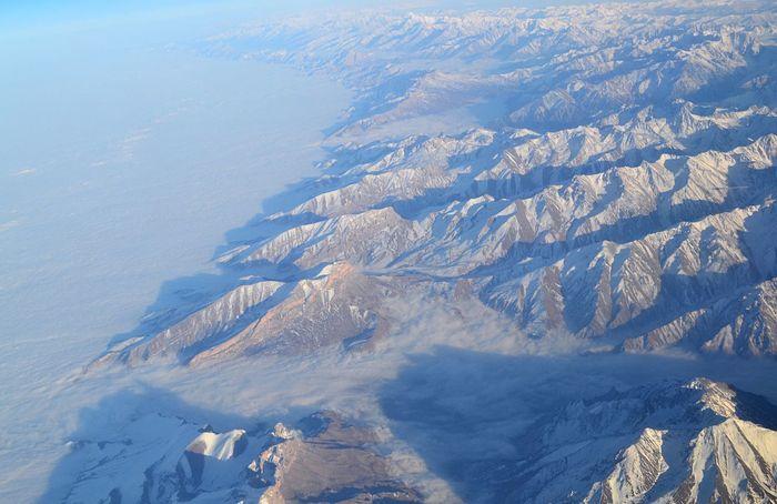 Mountain Nature Air Travel Photo горы красота природароссии Природа видсверху самолет небо безграчность