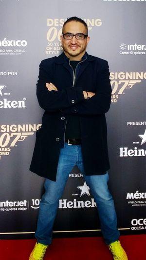 Listo para la premier de Spectre nueva película de 007 MOVIE Premiere Selfportrait