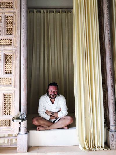 Royal Mansour Hammam EyeEm Selects One Person Adult Men Sitting Indoors  Lifestyles