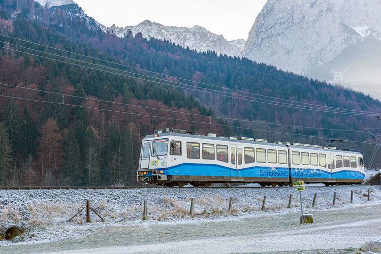 Winter in bavarian alps
