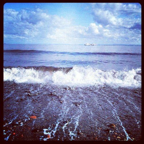'Waiting by the sea before work' Ravenscraig Kirkcaldy Fife  Scotland Waves Seascape Beach Cloudporn skyback sky skyporn igscotland igtube Igers igdaily Tagstagram iphonesia photographyoftheday insta_shutter Instagood instamob instamood instagrammers picoftheday bestoftheday haggismunchers