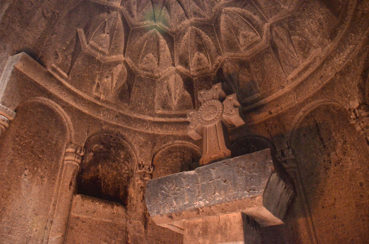 Armenia Geghard Geghard Monastery Ancient Ancient Civilization Archaeology Architectural Column Architecture Close-up Day History Indoors  No People Old Ruin Oriental Orthodox Church Religion Travel Destinations W-armenien